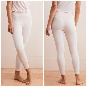 Aerie Seamless Textured Light Pink Leggings XS